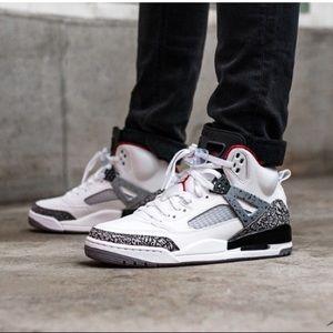 half off 37e75 fbbda Jordan Shoes - Brand New Jordan Spizike White Cement  FINAL PRICE
